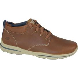 Buty Skechers Harper Melden M 64857-LUG brązowe