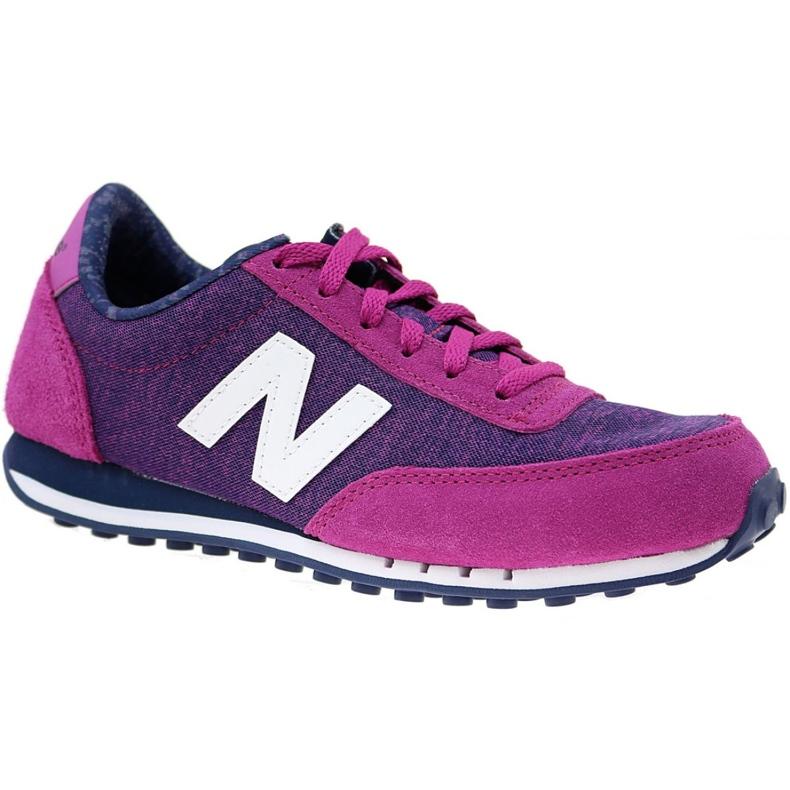 Buty New Balance W WL410OPB fioletowe różowe