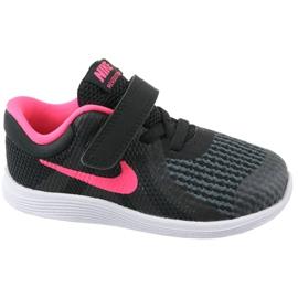Buty Nike Revolution 4 Tdv Jr 943308-004 czarne