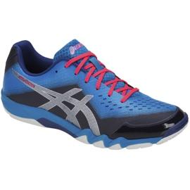 Buty do squasha Asics Gel-Blade 6 M R703N-400 niebieskie