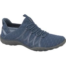 Niebieskie Buty Skechers Breathe Easy W 23048-SLT