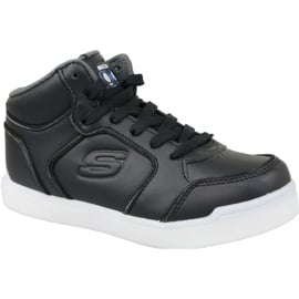 Czarne Buty Skechers Energy Lights Jr 90622L-BLK