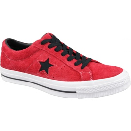 Buty Converse One Star M 163246C czerwone