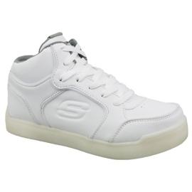Białe Buty Skechers Energy Lights Jr 90622L-WHT