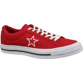 Buty Converse One Star Ox M 163378C czerwone