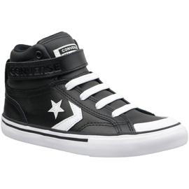Czarne Buty Converse Pro Blaze Strap Hi Jr 663608C