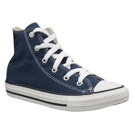 Granatowe Buty Converse C. Taylor All Star Youth Hi Jr 3J233
