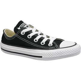 Czarne Buty Converse C. Taylor All Star Youth Ox Jr 3J235C