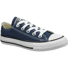 Granatowe Buty Converse C. Taylor All Star Youth Ox Jr 3J237C