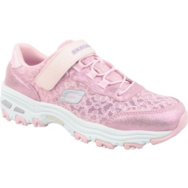 Buty Skechers D'Lites Jr 664086L-LTPK różowe