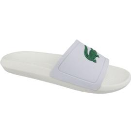 Klapki Lacoste Croco Slide 119 1 M 737CMA0018082 białe