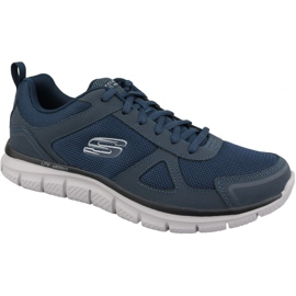 Granatowe Buty Skechers Track-Scloric M 52631-NVY