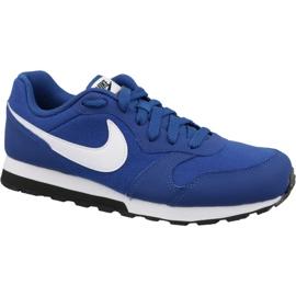 Niebieskie Buty Nike Md Runner 2 Gs Jr 807316-411