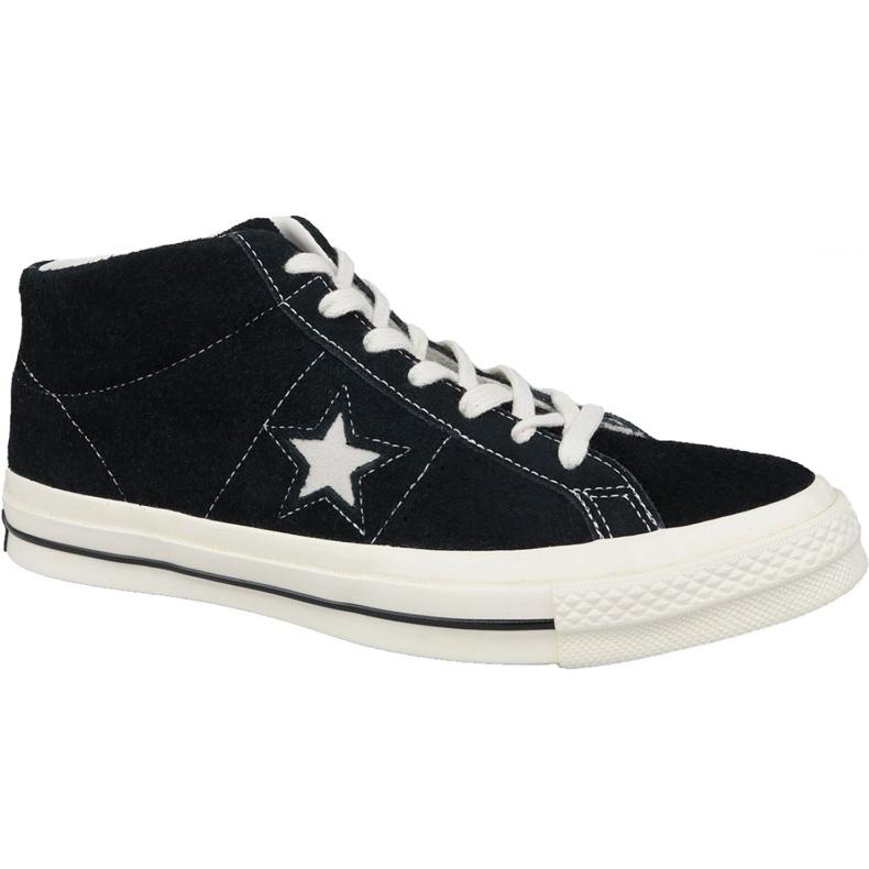 Buty Converse One Star Ox Mid Vintage Suede M 157701C czarne