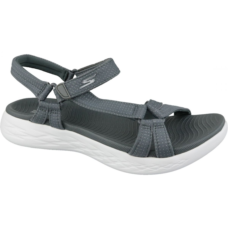 Sandały Skechers On The Go 600 15316-CHAR szare