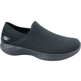 Czarne Buty Skechers You-Intuition W 15802-BBK