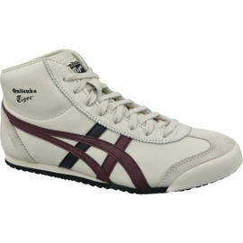 Asics białe Buty Onitsuka Tiger Mexico Mid Runner M HL328-250