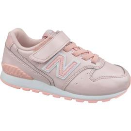 Różowe Buty New Balance Jr YV996GB