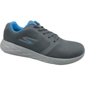 Szare Buty Skechers Go Run 600 M 55061-CCBL