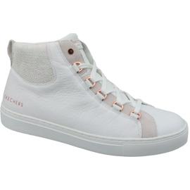 Białe Buty Skechers Side Street Core-Set Hi W 73581-WHT