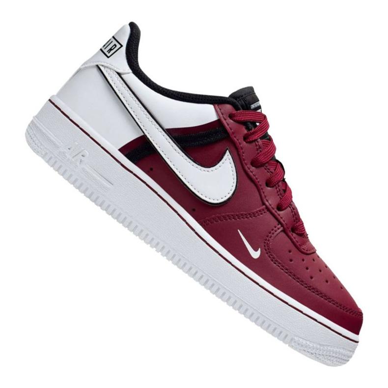 Buty Nike Air Force 1 LV8 2 Jr CI1756-600 białe czerwone