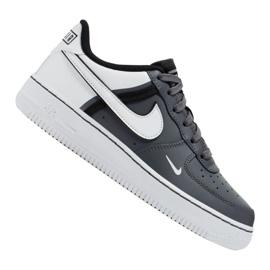 Buty Nike Air Force 1 LV8 2 Jr CI1756-002 białe czarne
