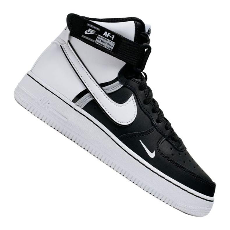 Buty Nike Air Force 1 High LV8 2 Gs Jr CI2164-010 białe czarne