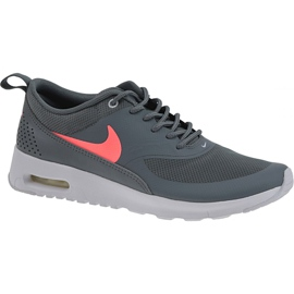 Szare Buty Nike Air Max Thea Gs W 814444-007