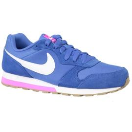 Niebieskie Buty Nike Md Runner 2 Gs W 807319-404
