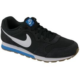 Czarne Buty Nike Md Runner Gs W 807316-007
