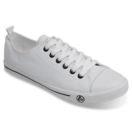 Klasyczne Trampki 9911 Biały białe