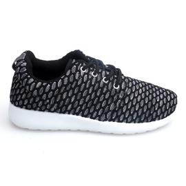 Sportowe Adidasy Do Biegania Roshe KA537 Czarny czarne