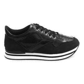 Sneakersy JT1 Czarny czarne