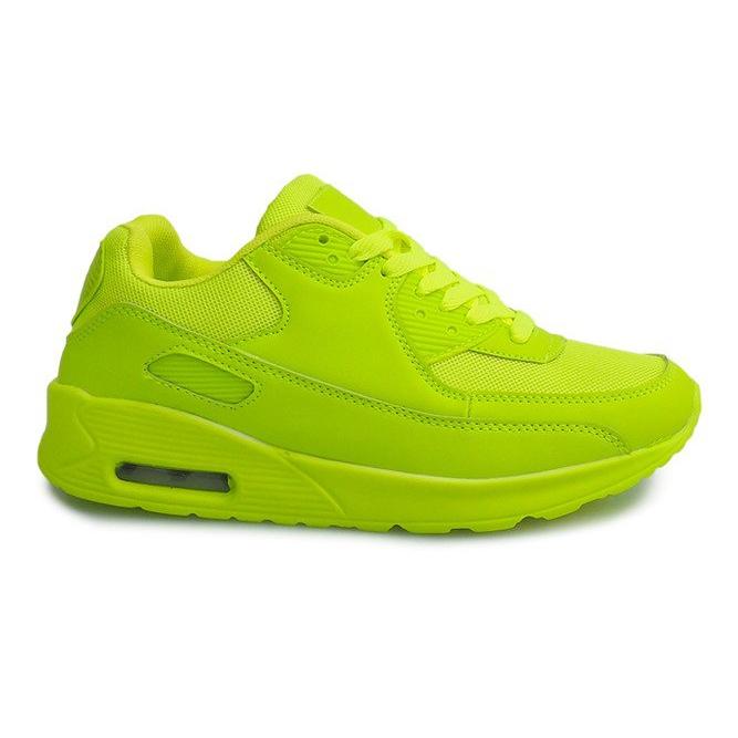 Buty Sneakersy K01 Zielony zielone
