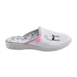Befado klapki buty dziecięce 707Y398 szare
