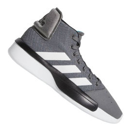 Buty adidas Pro Adversary 2019 M BB9190 szare szary/srebrny