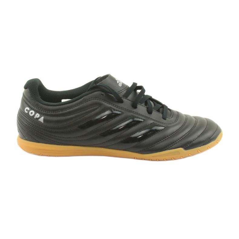 Buty halowe adidas Copa 19.4 In M F35485 czarne