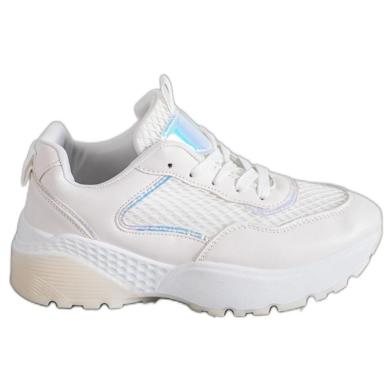 SHELOVET Wygodne Buty Sportowe białe
