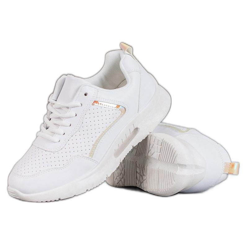 SHELOVET Białe Buty Sportowe