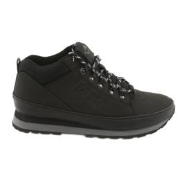 Buty męskie zimowe Lee Cooper 19-20-011 czarne