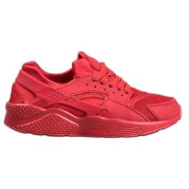 SHELOVET Czerwone Buty Sportowe