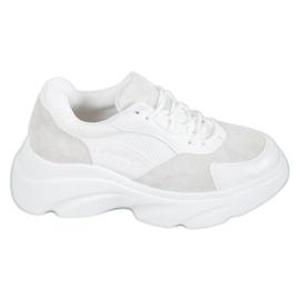 Seastar Buty Sportowe Na Platformie białe