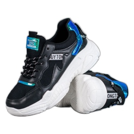 SHELOVET Wygodne Buty Sportowe czarne