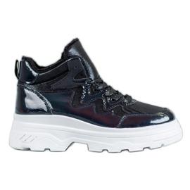 Seastar czarne Ocieplane Sneakersy