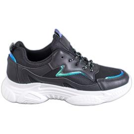 SHELOVET Klasyczne Buty Sportowe czarne