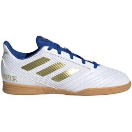 Buty halowe adidas Predator 19.4 In Sala Jr EG2829 białe biały