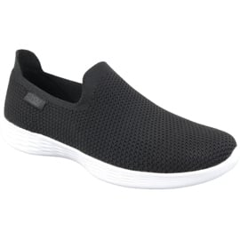 Czarne Buty Skechers You Define W 14956-BKW