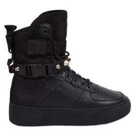 Buty sportowe czarne Y-025 Black