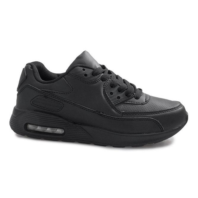 Czarne obuwie sportowe