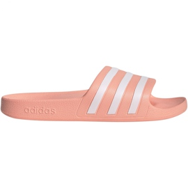 Różowe Klapki adidas Adilette Aqua W EE7345